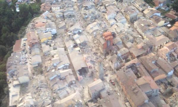 PTV – Emergenza terremoto centro Italia