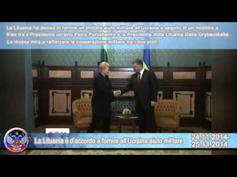 25 11 2014 – Notiziario del Donbass IIa edizione