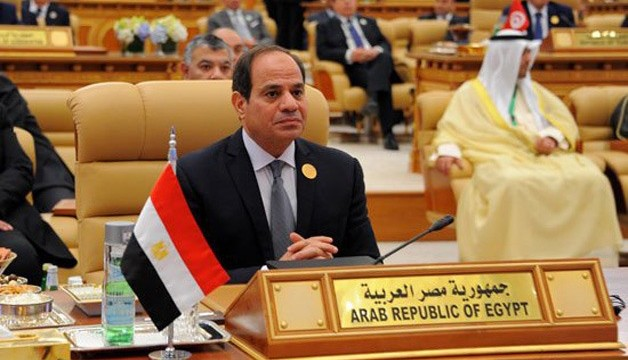 """Al Sisi a Riyadh: """"Il terrore è occidentale"""""""