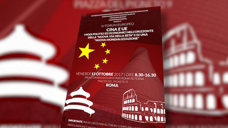 Cina ed Italia s'incontrano per discutere di comunismo e mondializzazione
