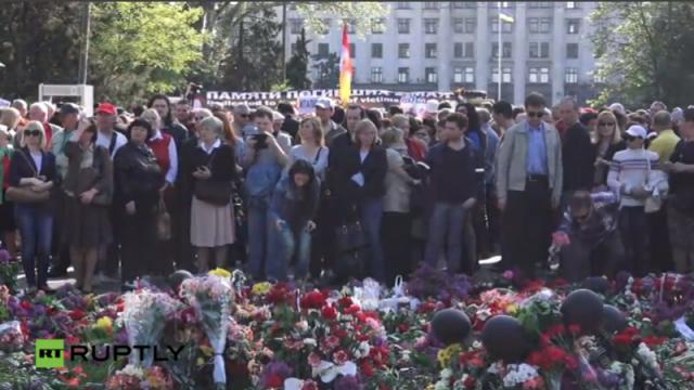 PTV  news 4 maggio 2016 – Odessa non dimentica e non perdona