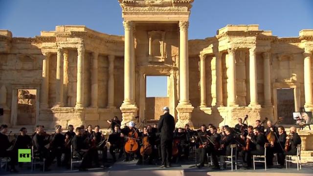 PTV news 6 maggio 2016 – La cultura russa s'inchina a Palmira