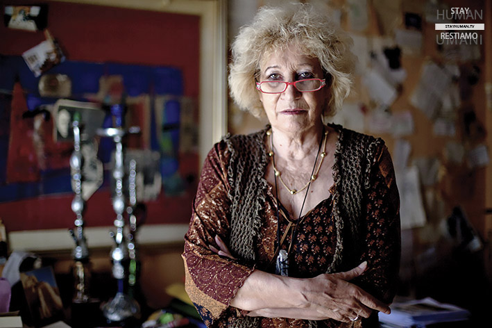 Stay Human. The Reading Movie (2/20). Guernica in Gaza – Egidia Beretta Arrigoni