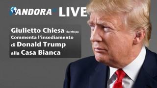[LIVE] Giulietto Chiesa commenta da Mosca l'insediamento di Donald Trump alla Casa Bianca