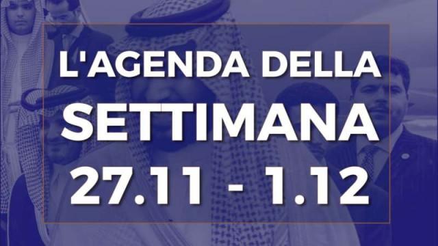 PTV News – L'agenda della settimana dal 27.11.17 al 1.12.17