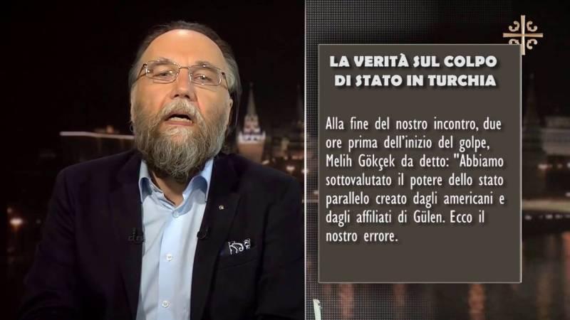 Alexandre Douguine: La verità sul colpo di stato in Turchia