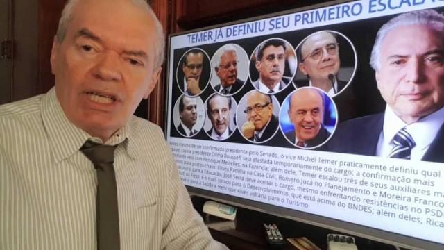 Brasile: la banda dei ministri del futuro governo Temer