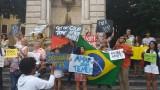 """Coletivo BELI"" (Brasileiros Em Luta na Itália) – Manifestazione a Roma"