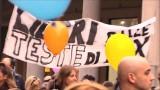 Corteo per la libera scelta di vaccinazione Torino 21 ottobre 2017