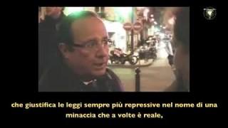 Cosa diceva Hollande sul terrorismo nel 2009.