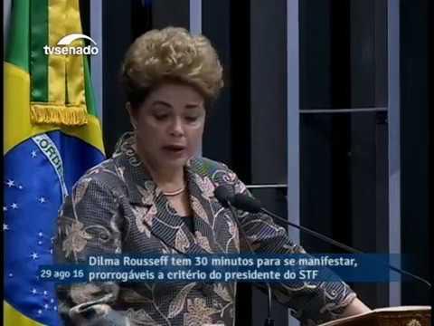 Dilma Rousseff: discorso di autodifesa al Senato Federale (versione integrale)