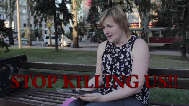 Donbass – Alla ricerca delle armi fornite dai russi