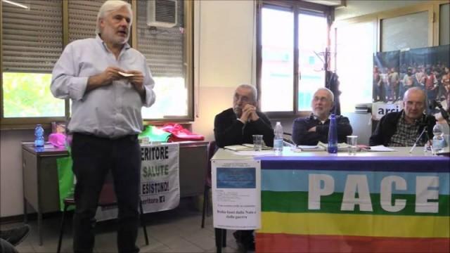 """Fausto Sorini: """"Ricostruire il movimento contro la guerra in Italia."""""""