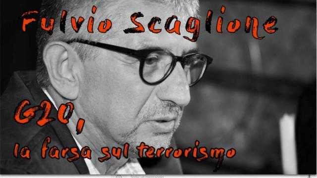 """Fulvio Scaglione: """"G20, la farsa sul terrorismo"""""""