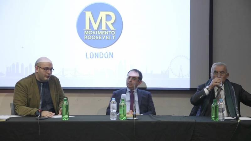 Gioele Magaldi incontra Giulietto Chiesa alla London Metropolitan University