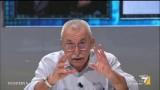 """Giulietto Chiesa a La gabbia: """"Il panorama non si può vedere con i paraocchi"""""""