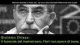 """Giulietto Chiesa: """"Il funerale del mainstream. Fiori non opere di bene."""""""