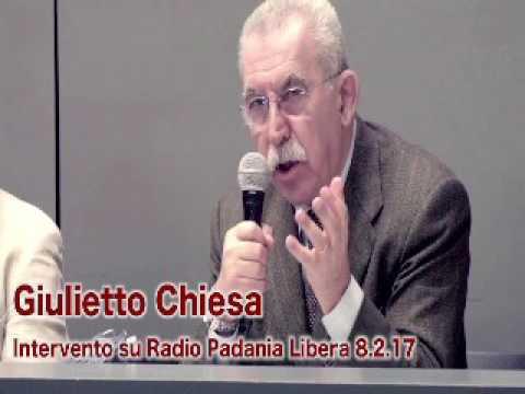 Giulietto Chiesa – Intervento su Radio Padania