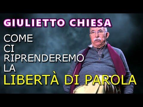 GIULIETTO CHIESA INTERVISTATO DA CLAUDIO MESSORA: COME CI RIPRENDEREMO LA LIBERTÀ DI PAROLA!