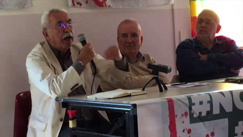 """Giulietto Chiesa : """"La questione delle armi nucleari in Italia deve tornare a essere centrale."""