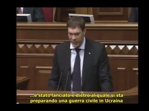 """""""Gli USA stanno organizzando un golpe a Kiev"""". Deputato prevede Maidan con mesi di anticipo."""