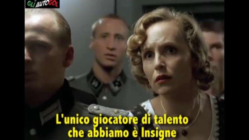 Hitler scopre che l'Italia non va ai mondiali