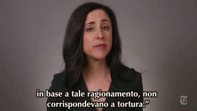 I Torturatori CIA Sotto Interrogatorio