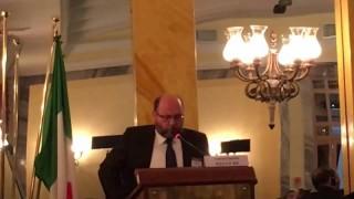 "Intervento di Vladimiro Giacchè al Forum Europeo 2016 ""La Via Cinese"""