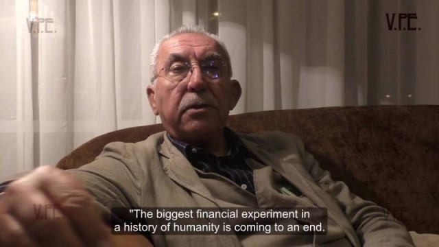 Italian journalist Giulietto Chiesa. Donbass, Democracy and the order of things