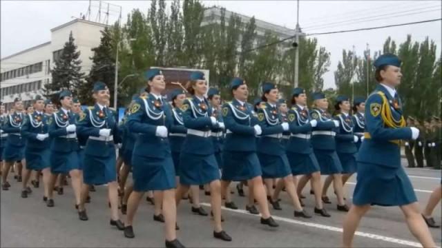 La Giornata della Vittoria a Donetsk