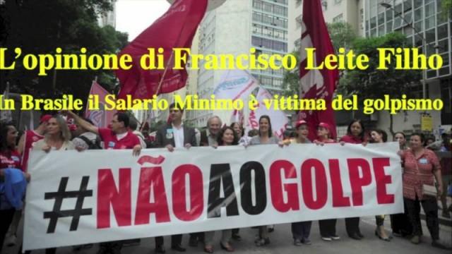 """Latinoamerica: """"In Brasile il salario minimo è vittima del golpismo"""""""