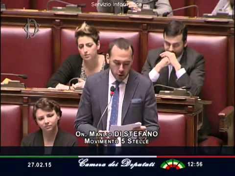 """Lo scandaloso riconoscimento """"beffa"""" della Palestina –  Manlio Di Stefano (M5S)"""
