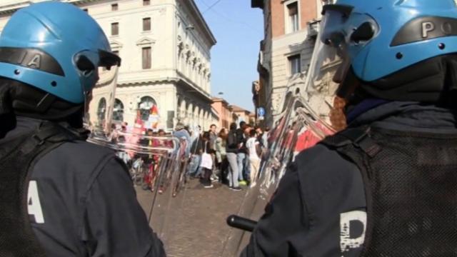 Proteste contro il G7 di Lucca