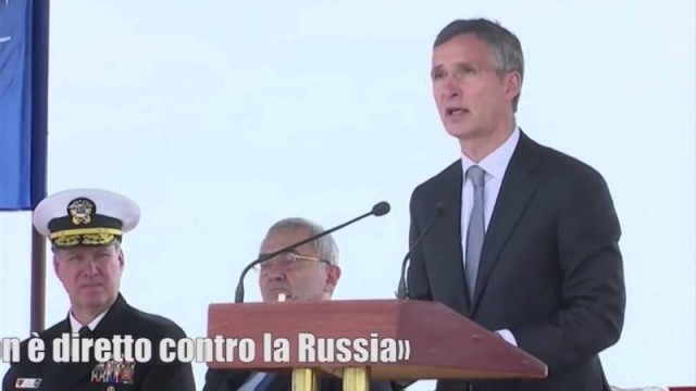 Manlio Dinucci: U.S. missiles in Romania and Poland: Europe on the nuclear frontline