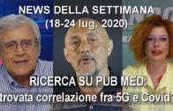 NEWS DELLA SETTIMANA (18-24 lug. 2020)