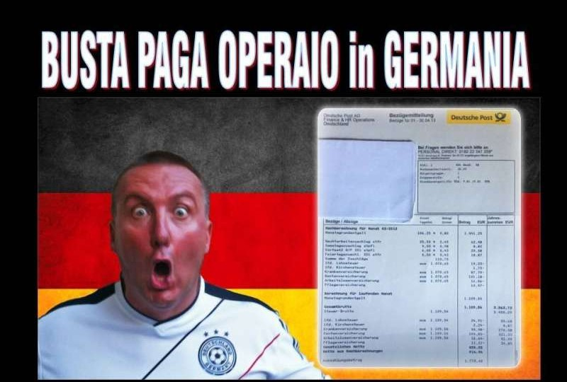 Gli stipendi in Germania