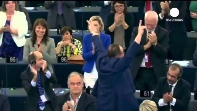 PTV News 17 settembre 2014 – Kiev: parlamentare nel cassonetto