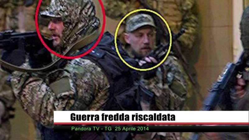 PTV News 25 aprile 2014 – L'escalation è di Kiev