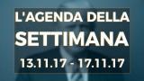 PTV News – L'agenda della settimana dal 13.11.17 al 17.11.17