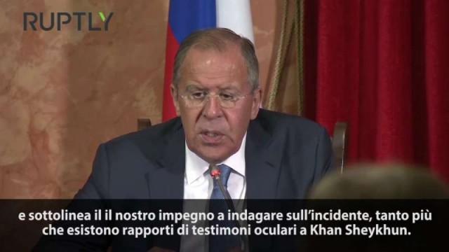 """PTV News Speciale – Lavrov: """"In Siria risponderemo con dignità"""""""