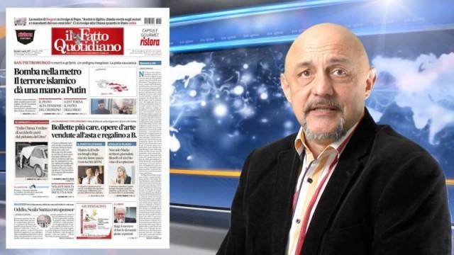 Roberto Quaglia: Fake fake news a casaccio dal mondo [7 aprile 2017]