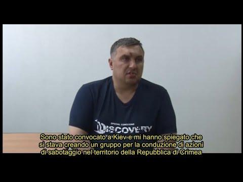 """Sabotatore ucraino catturato in Crimea: """"Preparavamo atti di sabotaggio contro la Russia"""""""