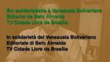 Em solidariedade à Venezuela – In solidarietà del Venezuela