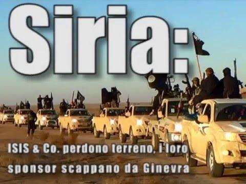 Siria: ISIS & Co. perdono terreno, i loro sponsor scappano da Ginevra