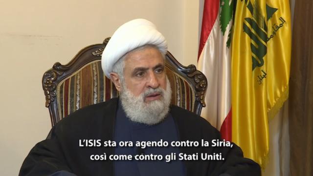 """PTV News Speciale – Il numero due di Hezbollah: """"Il mostro (ISIS) ha attaccato il suo creatore (USA)"""""""
