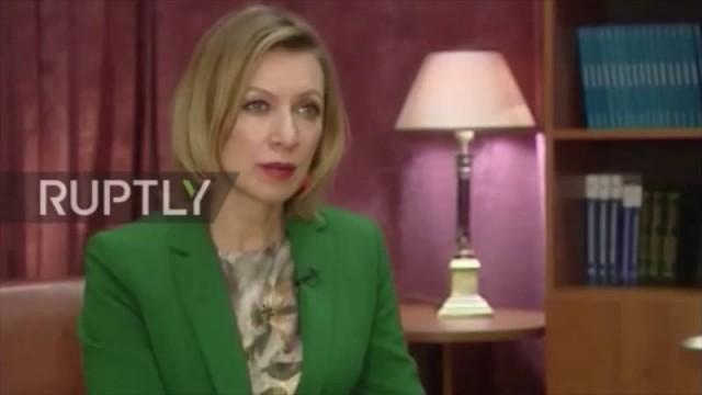 "Speciale PTV news Maria Zakharova: ""Mosca risponderà a ogni passo ostile degli Usa"""