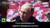 """Stone intervista Putin: """"Qual è la posizione della Russia verso le persone omosessuali?"""""""