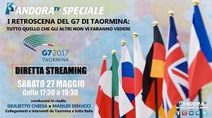 G7 TAORMINA LIVE