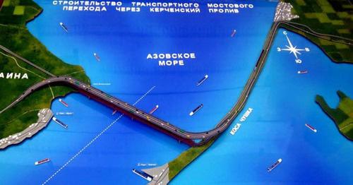 Il ponte di Kerch procede ad alta velocità